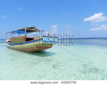 Boat in the Beach