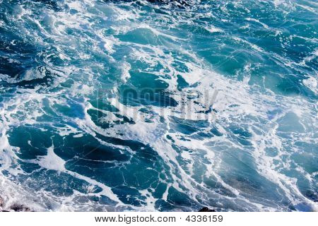Deep Blue Ominous Ocean Water