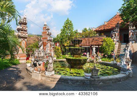 Buddist Monastry On Bali