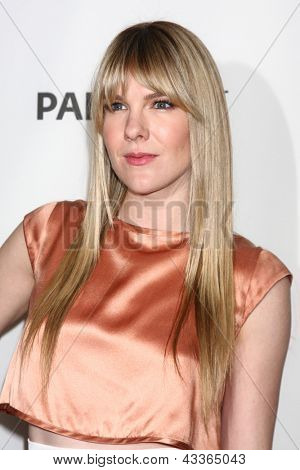 LOS ANGELES - MAR 15:  Lily Rabe arrives at the