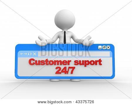 Customer Suport 24/7