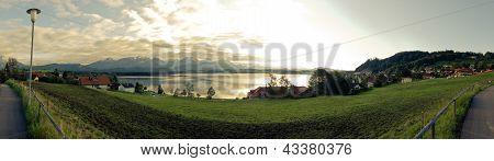 Bavarian Lake Panorama