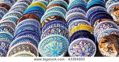 Arabic Colorful Pottery