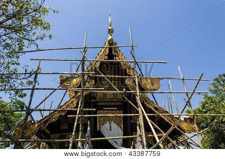 Thai Temple Construction