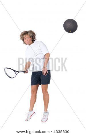 Playing Squash