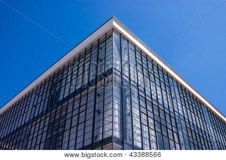 Detalhe da Bauhaus de Dessau