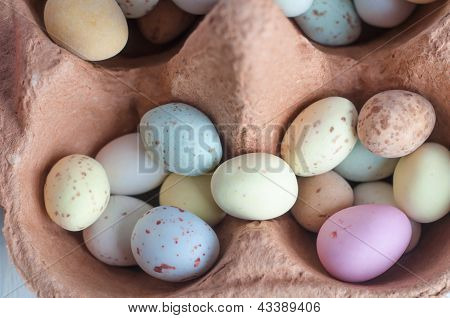 Egg Shaped Sweets In Carton