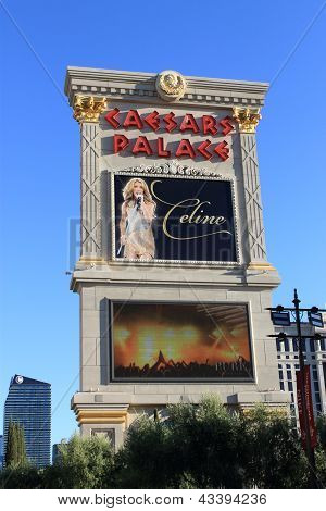 Las Vegas - Caesars Palace Hotel And Casino Marquee