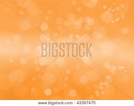 Spring And Summer Magic Light Abstract Background