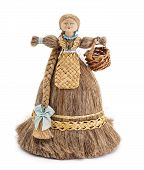 image of rag-doll  - Doll made ??of wood and linen.
