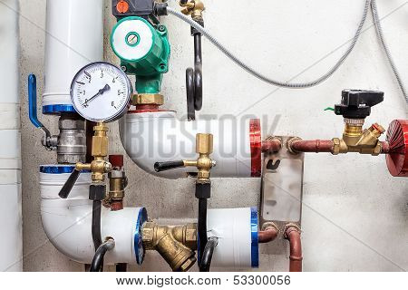 Valves Of A Heating System