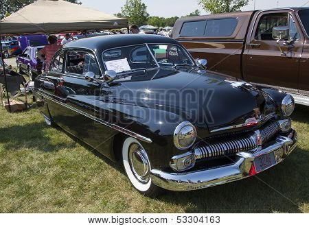 1950 Mercury Club Coupe Side View