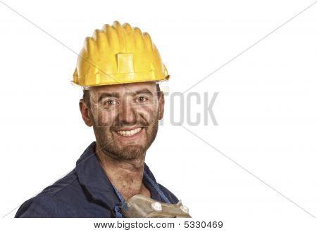 Confident Labourer
