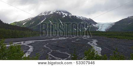 Exit glacier Landscape - Kenai Fjords National Park