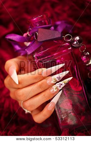 Nails And Elixir Bottle
