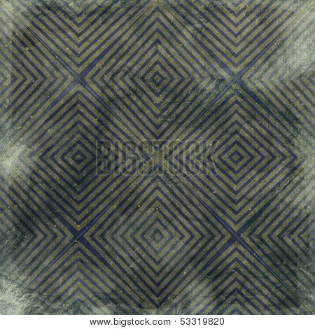 Seamless paper with Geometrical Pattern in retro