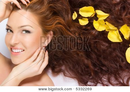 In Yellow Rose Petals