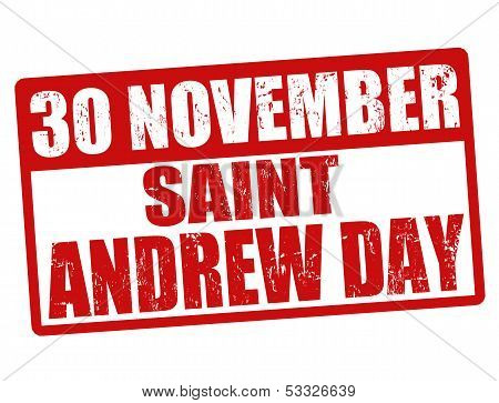 Saint Andrew Day Stamp