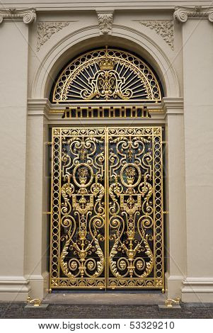 Door At Het Loo Palace, Netherlands