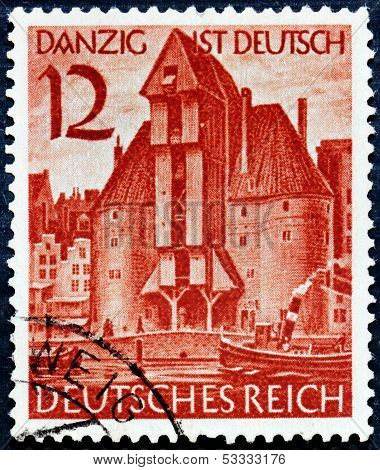 Gdansk Stamp