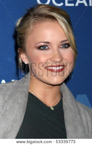 LOS ANGELES - OCT 30:  Emily Osment at the Oceana's Partners Awards Gala 2013 at Beverly Wilshire Hotel on October 30, 2013 in Beverly Hills, CA