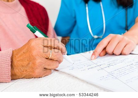 Contract With Nursing Home