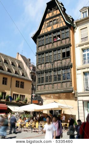 Petite-france, Strasbourg, Alsace, France