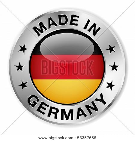 Made In Germany Silver Badge