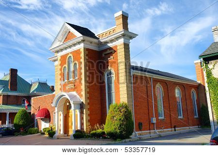 Saint Athanassius Greek Orthodox Church Kingston Ontario Canada Historic Heritage Building 19Th Cent