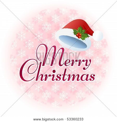 Merry Christmas  Message Illustration