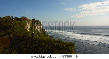 Cliff Over Sea
