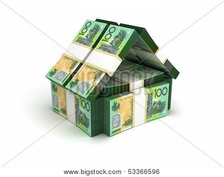 Real Estate Concept Australian Dollar