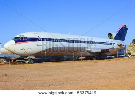 Airliner Graveyard