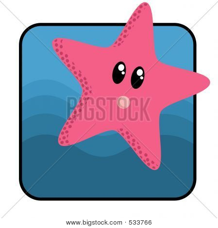 Cartoon Star Fish
