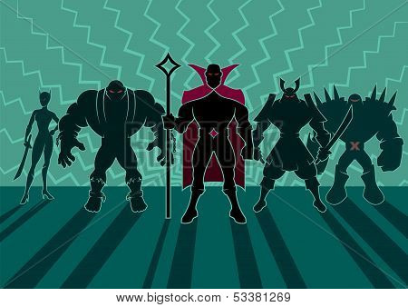 Supervillain Team