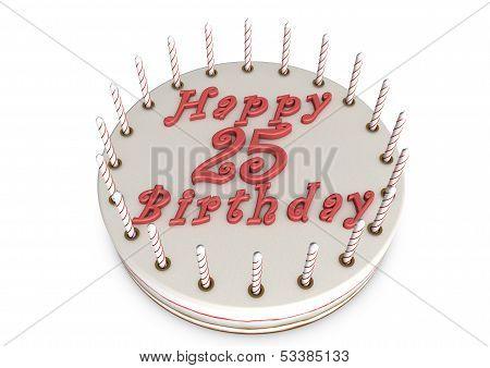 Cream Pie For 25Th Birthday