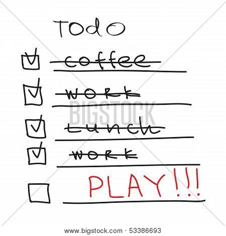 ToDo List - time to play
