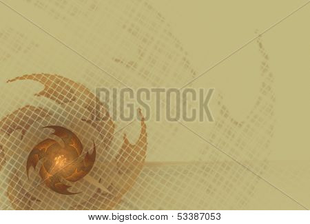Aggressive abstract background in beige tones