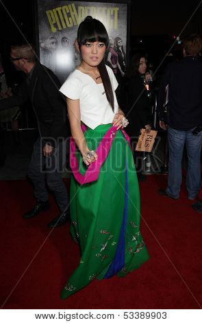 LOS ANGELES - SEP 24:  Hana Mae Lee arrives to the