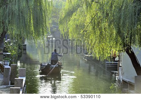 Water City Of Zhouzhuang In China
