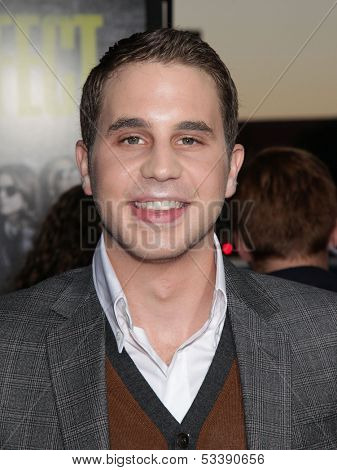 LOS ANGELES - SEP 24:  Ben Platt arrives to the