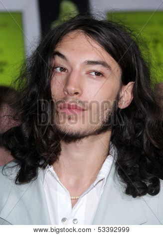 LOS ANGELES - SEP 10:  Ezra Miller arrives to the