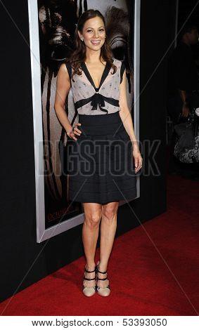 LOS ANGELES - OCT 07:  Tamara Braun arrives to