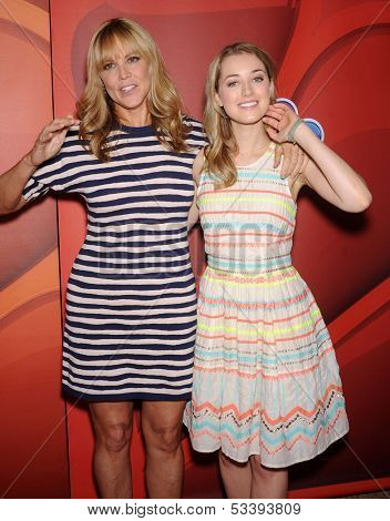 LOS ANGELES - AUG 27:  Mary McCormack & Ella Rae Peck arrives to NBC All Star Summer TCA Party 2013  on July 27, 2013 in Beverly Hills, CA