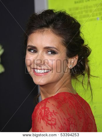 LOS ANGELES - SEP 10:  Nina Dobrev arrives to the