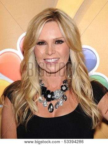 LOS ANGELES - AUG 27:  Tamra Barney arrives to NBC All Star Summer TCA Party 2013  on July 27, 2013 in Beverly Hills, CA