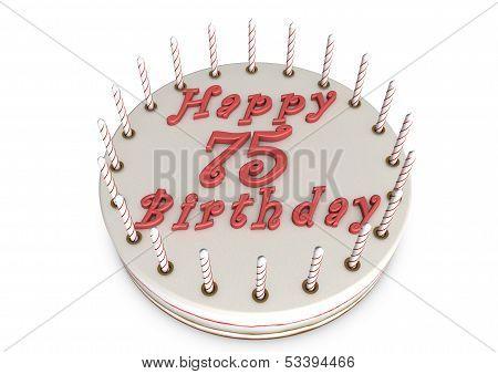 Cream Pie For 75Th Birthday