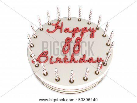 Cream Pie For 88Th Birthday