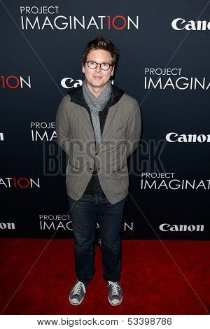 NEW YORK- OCT 24: Co-founder of Twitter and debut filmmaker, Biz Stone attends the premiere of Canon's 'Project Imaginat10n' Film Festival at Alice Tully Hall on October 24, 2013 in New York City.