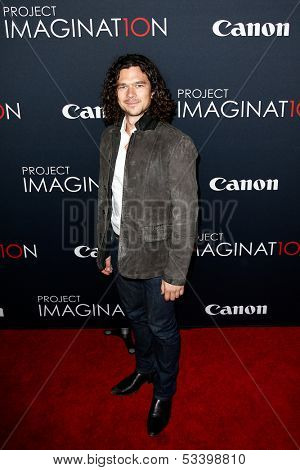 NEW YORK- OCT 24: Actor Luke Arnold attends the premiere of Canon's 'Project Imaginat10n' Film Festival at Alice Tully Hall at Lincoln Center on October 24, 2013 in New York City.